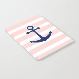 AFE Nautical Navy Ship Anchor Notebook