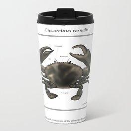 Crab Metal Travel Mug