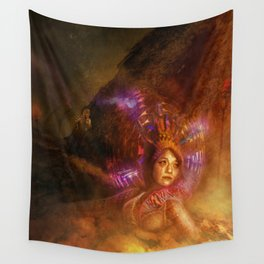 Robot 115-1 Wall Tapestry