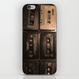 The Mixed Tape Project iPhone Skin