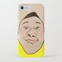 he man iPhone & iPod Cases featuring HE HE HE  by RUEI