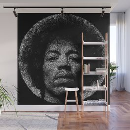 Hendrix Wall Mural
