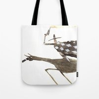 cowboy Tote Bags featuring Cowboy by Peerro