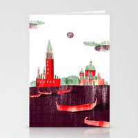venice Stationery Cards featuring Venice by Claudia Voglhuber