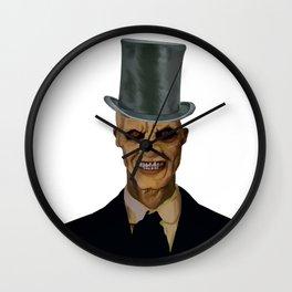 The gentlemen Wall Clock