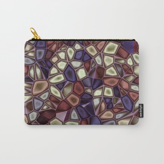 Fractal Gems 01 - Fall Vibrant Carry-All Pouch