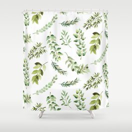 Forest in the Fall Shower Curtain