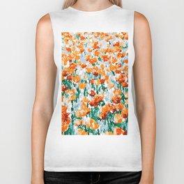 Isadora #illustration #painting #botanical Biker Tank