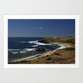 Cowrie Bay Art Print