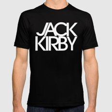 Classic : Jack Kirby Black  Black SMALL Mens Fitted Tee