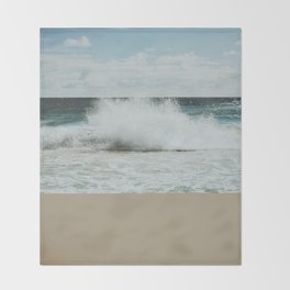 Wave Throw Blanket