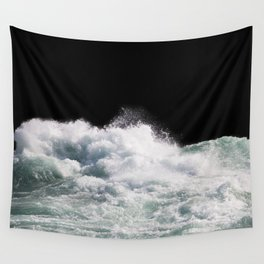 Water Photography | Wild Rapids | Waves | Ocean | Sea Minimalism Wall Tapestry