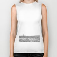 sail Biker Tanks featuring sail by Kearsten Taylor