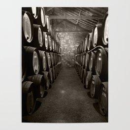 Barrels of Porto Poster