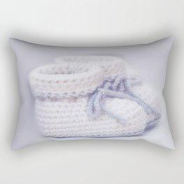 handmade slippers for newborn Rectangular Pillow