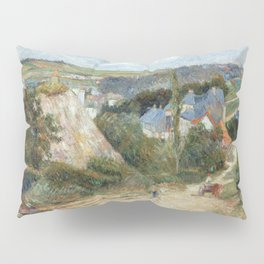 Entrance to the Village of Osny by Paul Gauguin Pillow Sham