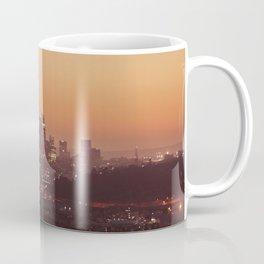 Los Angeles City Sunset Coffee Mug