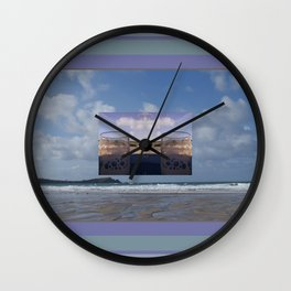 Beach Beers Wall Clock