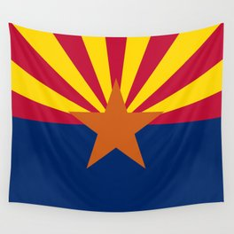 State flag of Arizona, Authentic HQ image Wall Tapestry