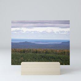 Huron Islands and Huron Mountains Mini Art Print