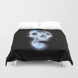 Wood Skull Duvet Cover