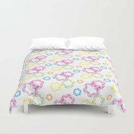 Curved & Twisted Lines Duvet Cover