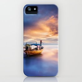 Ao nang beach at sunrise iPhone Case