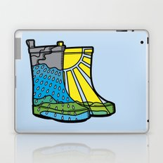 Rainy Day Boots Laptop & iPad Skin