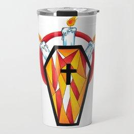crystal coffin Travel Mug