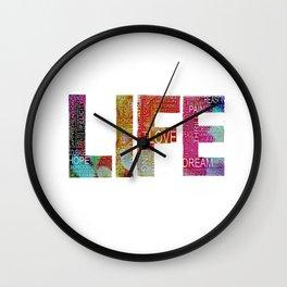 Life -again!!!!!!! Wall Clock