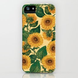 Helianthus Annuus iPhone Case