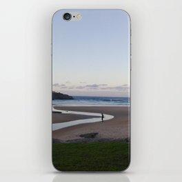 Walking alone iPhone Skin