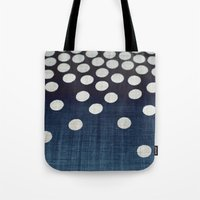 indigo Tote Bags featuring Indigo by Good Sense