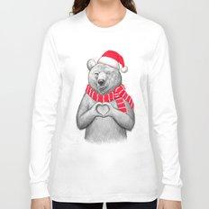 christmas bear #2 Long Sleeve T-shirt
