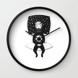 burning man Wall Clock