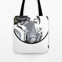 Graffiti mask Tote Bag