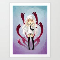 anxiety Art Prints featuring Anxiety by Freeminds