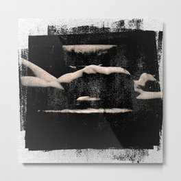 Unbound Desires Stretching Metal Print