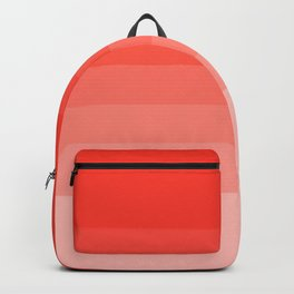 Cherry Tomato - Living Coral - Millennial Pink Ombre Backpack
