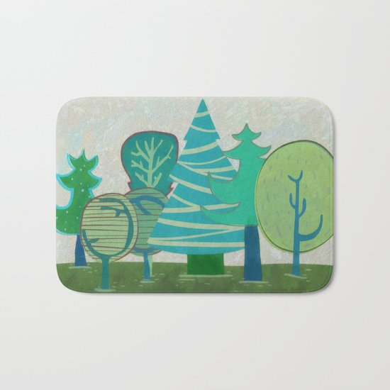 I have  only a small forest Bath Mat