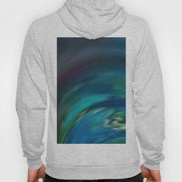 Aurora Blur - Abstract Art by Fluid Nature Hoody