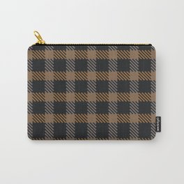 Tattersall Inspired - Browns Carry-All Pouch