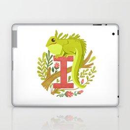 I is for Iguana Laptop & iPad Skin