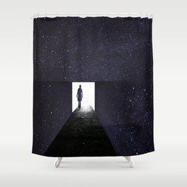 Stars Way To Heaven Shower Curtain