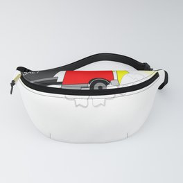 Winter Until the Plows Come Home Snow Plow Driver Fanny Pack