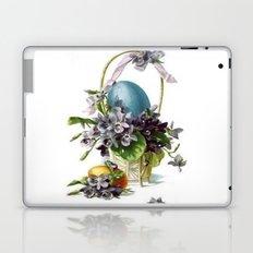 Vintage Easter Basket Laptop & iPad Skin