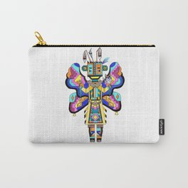 Kachina Butterfly 4 Carry-All Pouch
