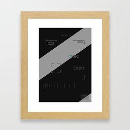 98037L Framed Art Print