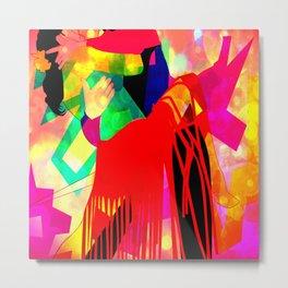 Dancing Sway Metal Print