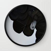 orphan black Wall Clocks featuring Orphan by Art by Cupcake